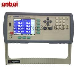 At4508a multi-canal medidor de temperatura fornecendo padrão 8 type-k sensor, apoio pt100 rtd