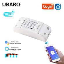 Умный Беспроводной Выключатель UBARO Tuya с поддержкой Wi-Fi и голосовым управлением