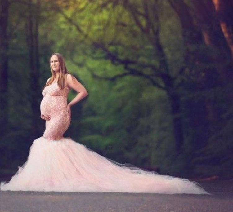 Maternity Dress Photography Maxi Dress Women Clothes Photography Pregnancy Photo Shoot Dress Maternity Dresses for Photo Shoot enlarge