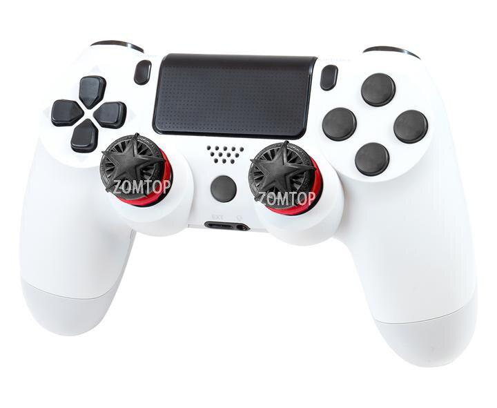 2 шт Non-slip силиконовый джойстик сцепление с высокой посадкой Кепки Чехлы расширители кадров в секунду для Sony PlayStation4 PS4 Xbox один контроллер