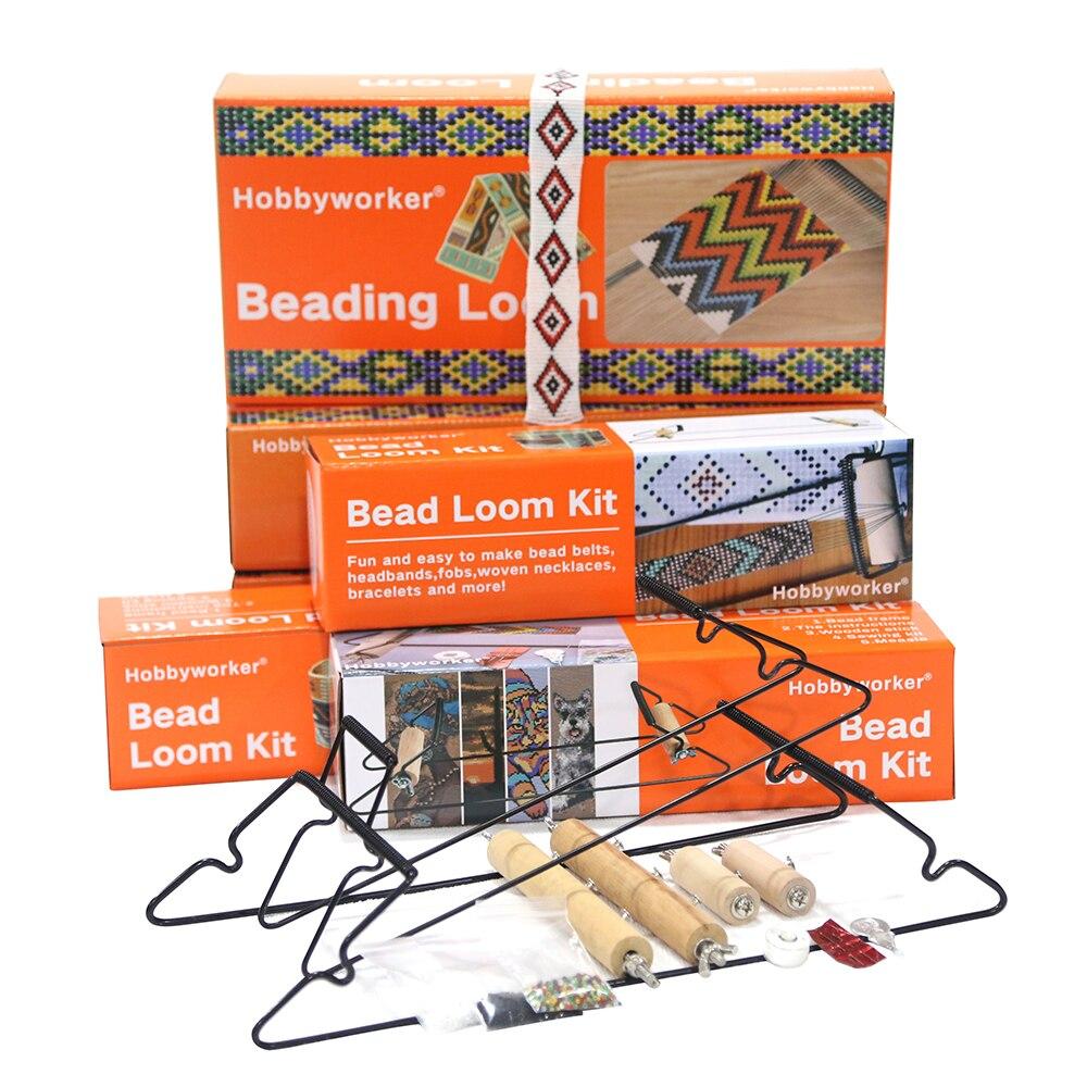 Фото - Hobbyworker Bead Loom Kit для изготовления браслетов, ожерелий, ювелирных изделий the loom пальто