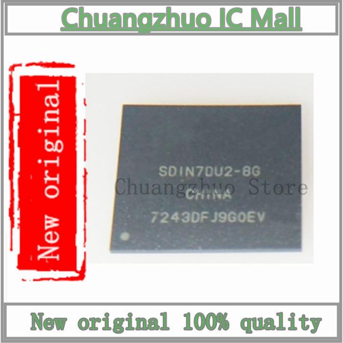 1 unids/lote nuevo original SDIN7DU2-8G SDIN7DU2 8G IC Chip