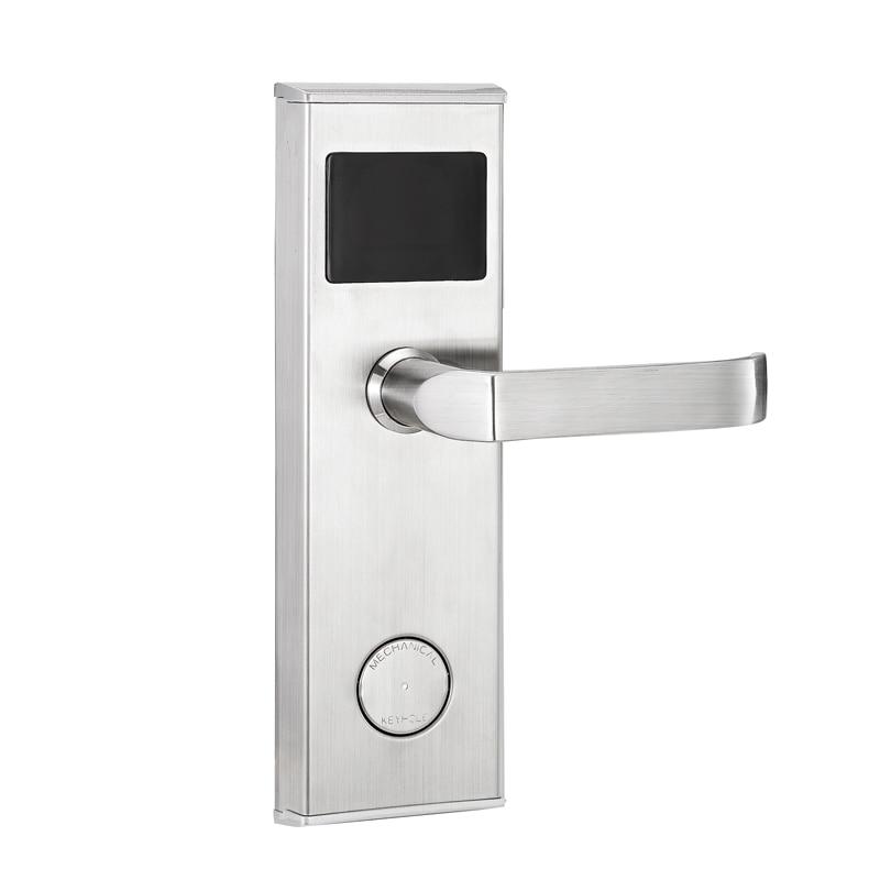 قفل إلكتروني ذكي RFID لنظام مفتاح بطاقة غرفة الفندق بسعر منخفض