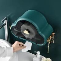 creative cloud tissue box european morandi color explosion style storage wash towel rack bathroom wall mounted tissue rack