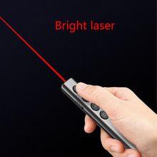 N35 Draadloze Presenter Pointer Rf 2.4 Ghz Usb Afstandsbediening Ppt Dia Flip Pen