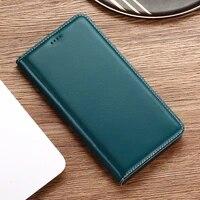 babylon genuine leather case for cubot magic note s dinosaur rainbow 2 power nova kingkong flip phone cover