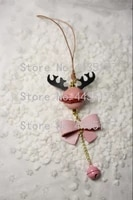 new japan steel blade wooden die bell reindeer bowknot leather craft punch hand tool cut knife mould sewing accessories
