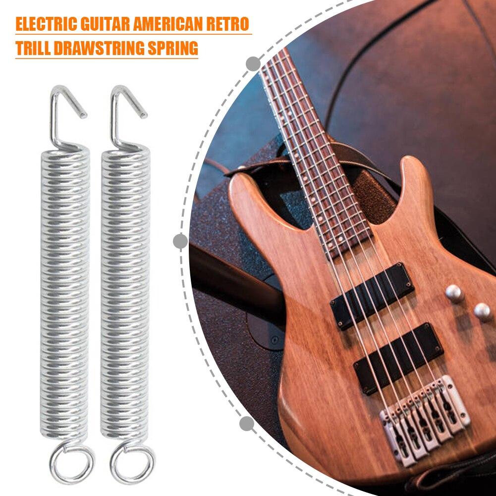 Muelles de Metal para guitarra eléctrica, piezas de guitarra clásica duraderas para...