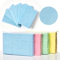 600pcs colorful nail polish remover cotton wipes uv gel tips remover cleaner paper pad nails polish art cleaning manicure tools