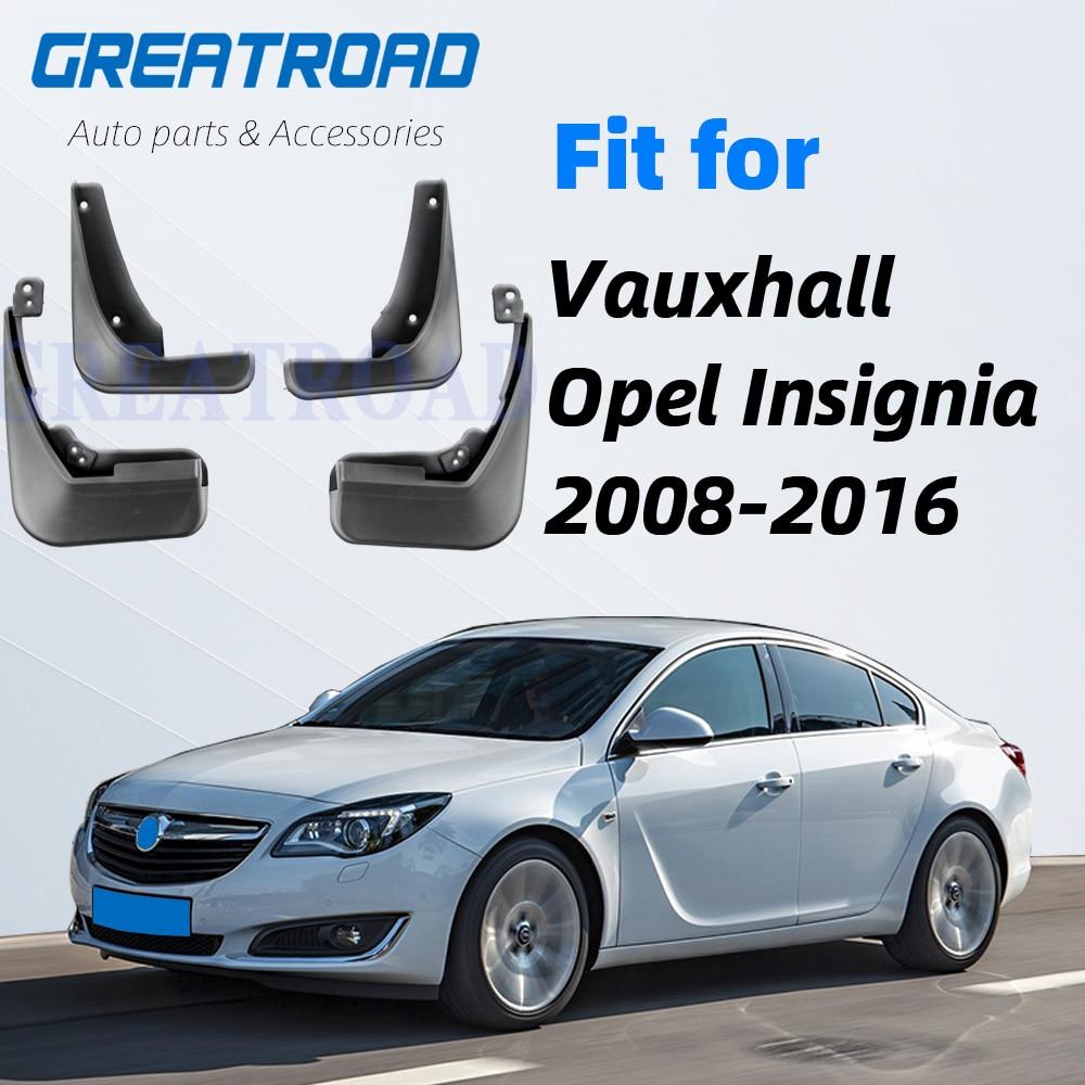 Para Vauxhall Opel Insignia 2008-2016 guardabarros protectores de salpicaduras guardabarros 2009 2010 2011 2012 2013 2014 2015 guardabarros