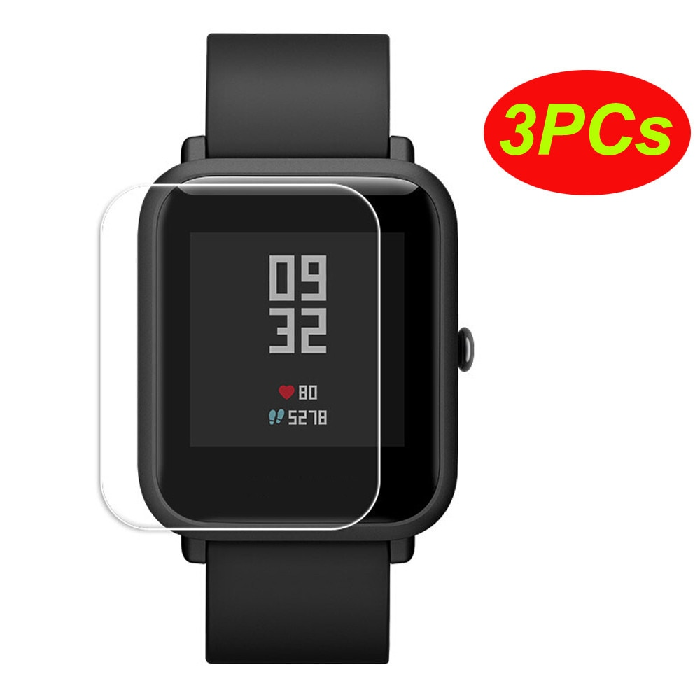 top selling product 2020 Clear Screen Protective Waterproof Film For Xiaomi Huami Amazfit Bip Youth