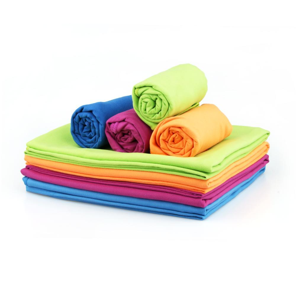 Портативное быстросохнущее пляжное полотенце из микрофибры, для путешествий, занятий спортом, плавания, быстросохнущее полотенце для кемп...