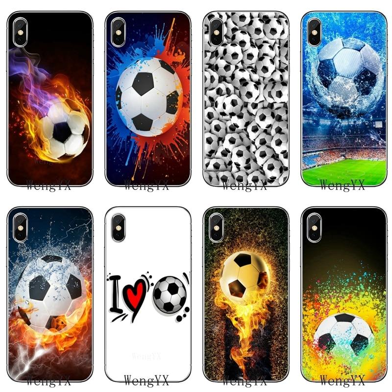 Soft cover case Retro Football Game Ball For Samsung Galaxy J8 J7 J5 Prime pro J3 A3 A5 A7 2018 2017 2016