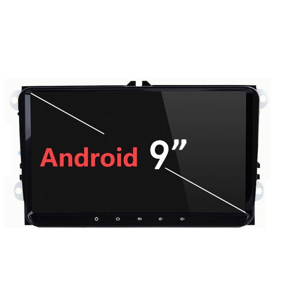 "2Din 9 ""2 + 16 Android 9,1 para VW/Volkswagen/Golf/Polo/Tiguan/Passat/b7/b6/leon/Skoda/Octavia Radio GPS de coche auto Radio Multimedia"