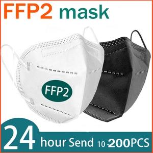 FFP2 face mask KN95 facial masks filtration maske dust mask mouth mask protect Anti-flu mascaras mask mask