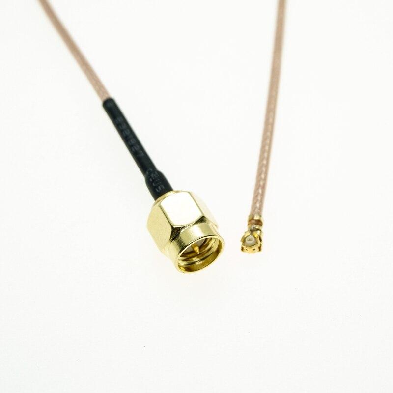 U FL/IPX a conector macho SMA WiFi antena Pigtail Cable ufl ipex RG178 Mini PCI