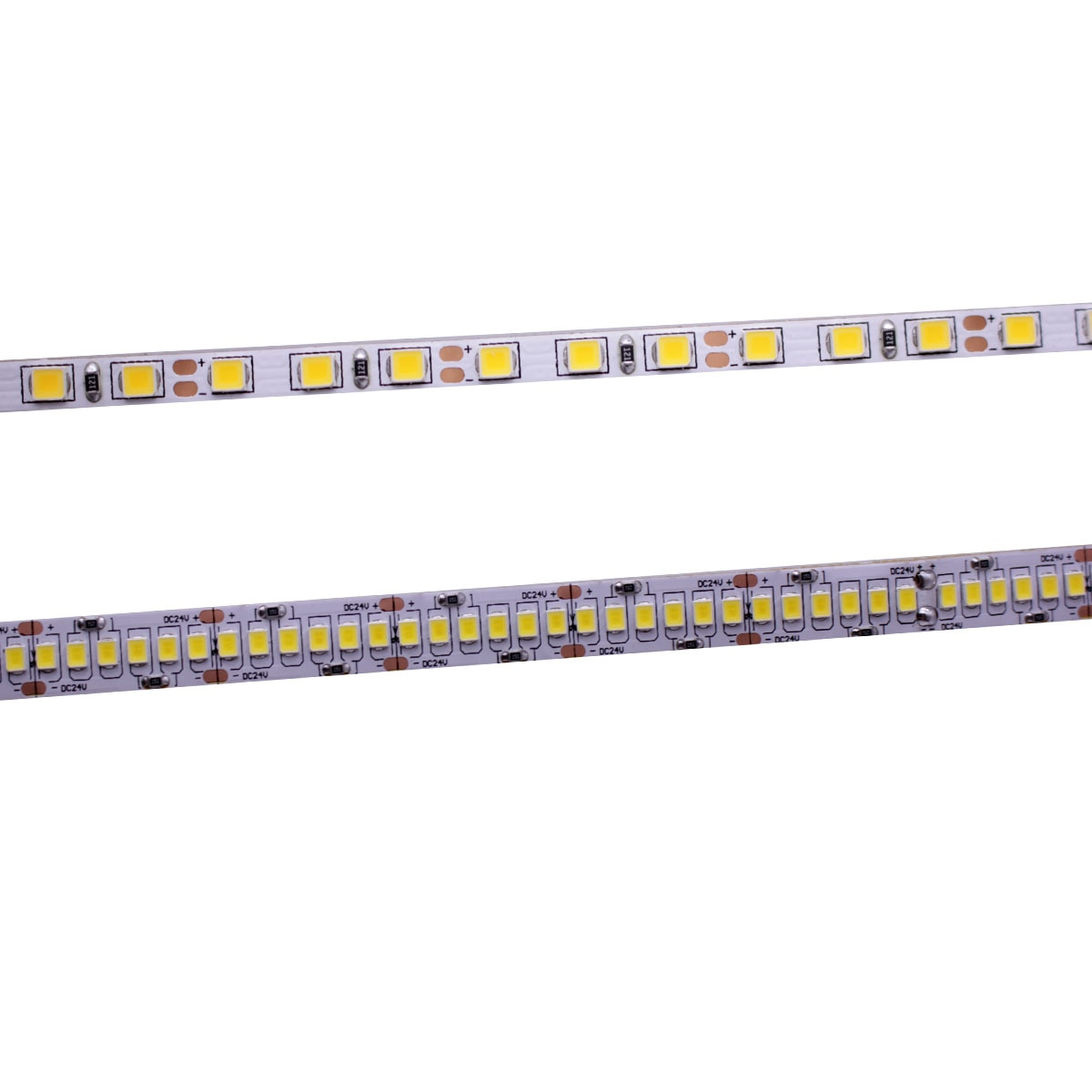 CRI 80 + 5 мм 10 мм PCB 12V 24V светодиодный 2835 120 светодиодный s 240 светодиодный s/m диод Гибкая световая лента 4000K 6000K Neutural белый теплый белый 5 м