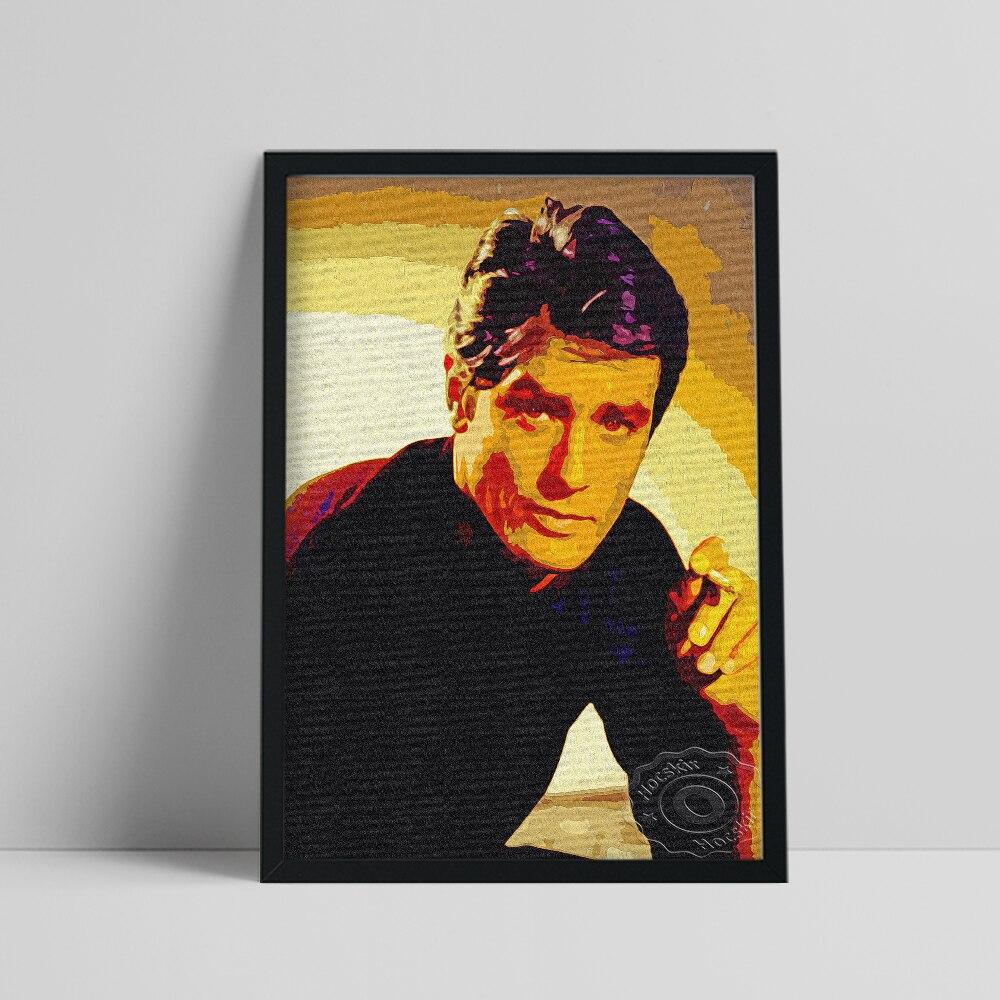 El Actor francés Alain Delon cartel Delon colección de Fans guapo hombre...