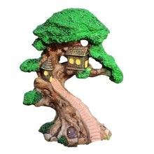 Décoration de maison arbre elfe   Jardin de fée Miniature, décoration de maisons, Mini artisanat, Micro décor daménagement, accessoires de bricolage