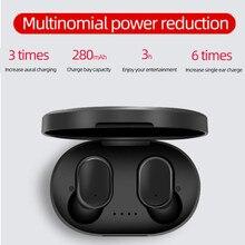 E6s słuchawki douszne bluetooth dla Redmi Air Dots bezprzewodowe słuchawki douszne 5.0 TWS słuchawki z redukcją szumów Mic dla Xiaomi
