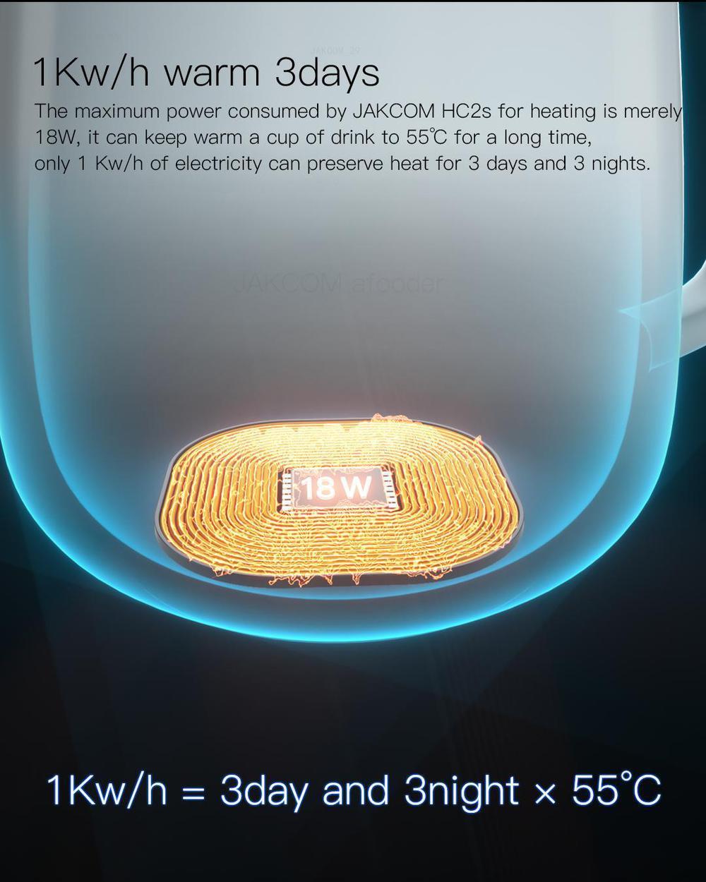 Jakcom hc2s copo de aquecimento sem fio