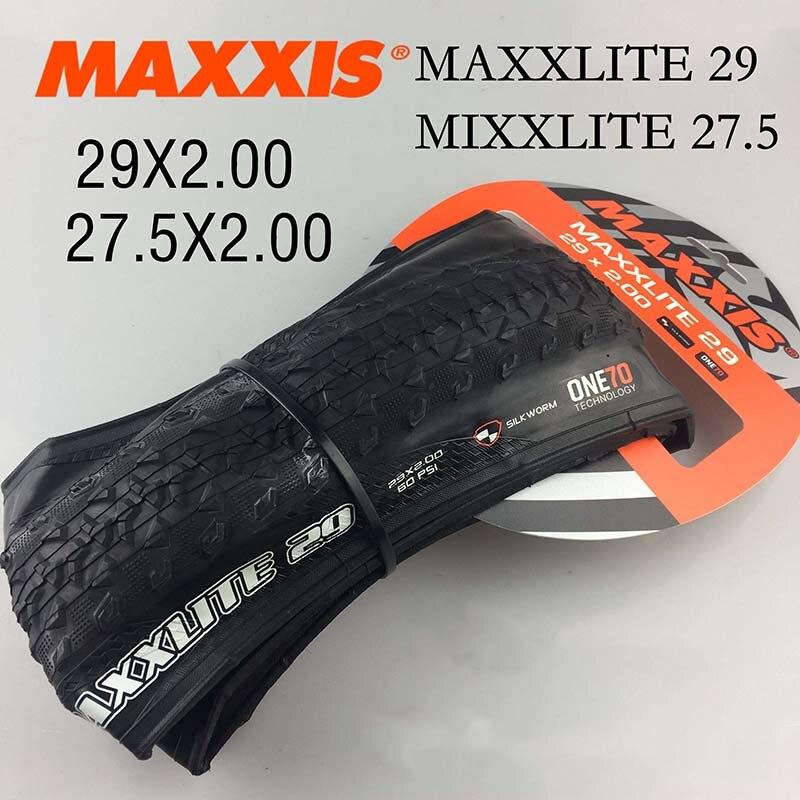 MAXXIS – pneus de vtt ultralégers, 29 29x2.0 170TPI, anti-perforation, pliants, 27.5, 27.5x2.0, 345g, type M310