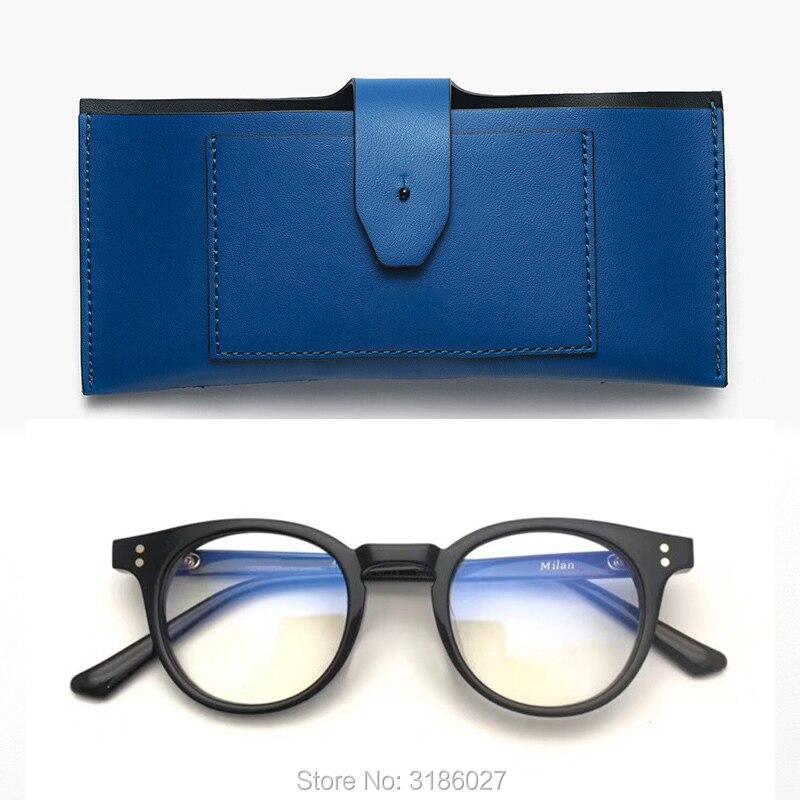 نظارة قراءة كلاسيكية كلاسيكية من ميلانو للسيدات والرجال ، نظارات قراءة من الأسيتات