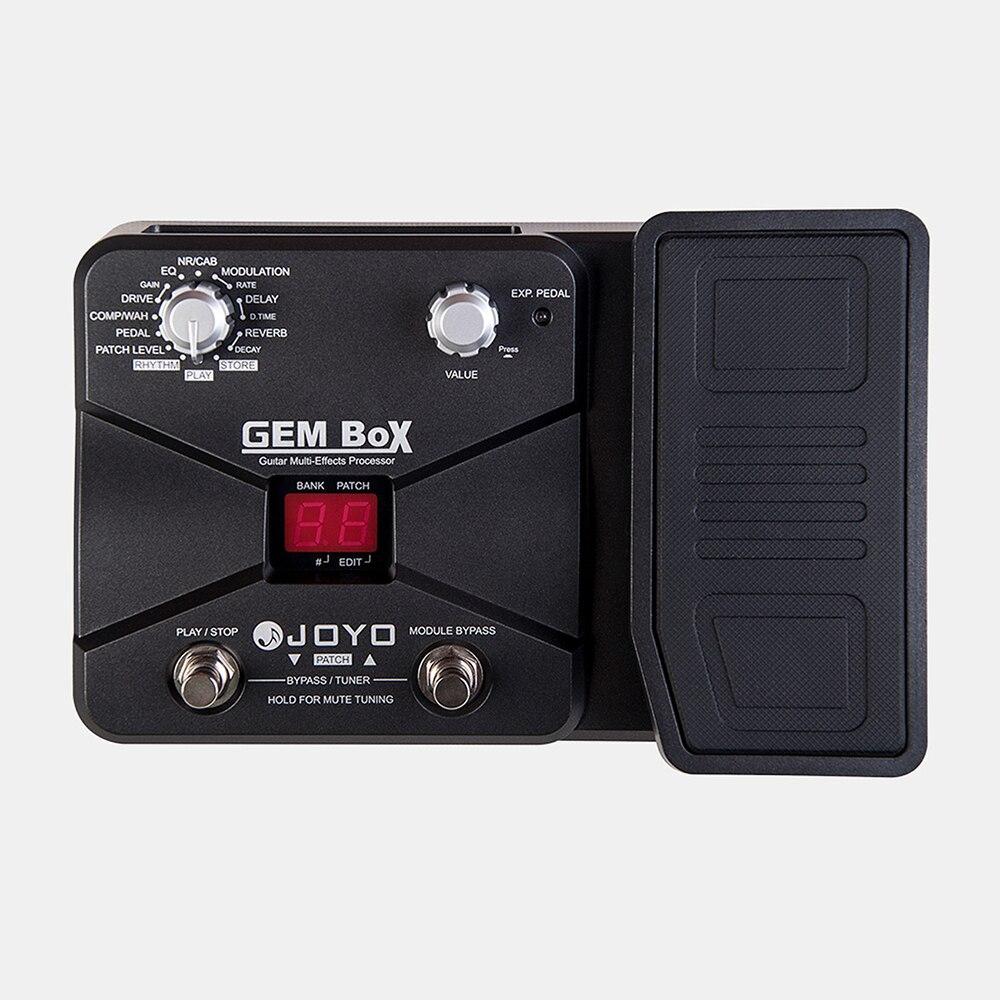 JOYO GEM Box Guitar Multi-Effects Processor 8 Kind Effect Modules 60 Effect Types Chorus Delay Drive Multi Function Effect Pedal enlarge