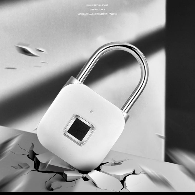 الحديث رائعة الإلكترونية الذكية قفل ببصمة الأصبع سبيكة المضادة للتآكل ومقاومة للماء المنزلية قفل الباب طالب استخدام قفل