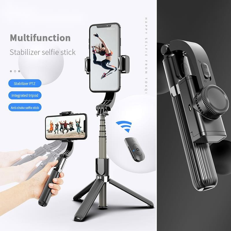 Bluetooth Handheld Gimbal Stabilizer Mobile Phone Selfie Stick Holder Adjustable Selfie Stand For iPhone/huawei