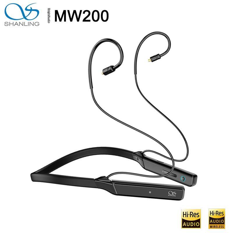 Shanling MW200 AK4377A CSR8675 Bluetooth 5,0 para el cuello deportes MMCX Cable...