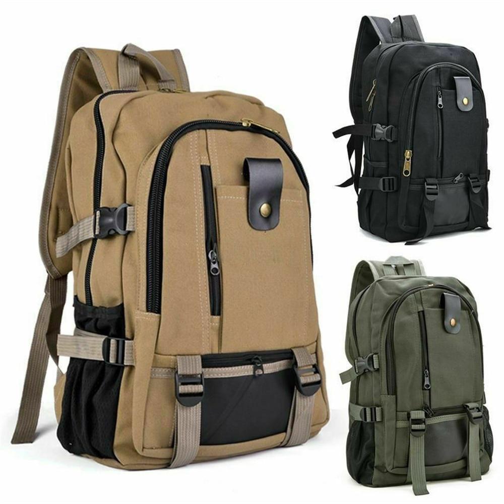 Большой мужской рюкзак для мальчиков, рюкзак для рыбалки, спорта, путешествий, пешего туризма, школьная сумка, деловая водонепроницаемая су...