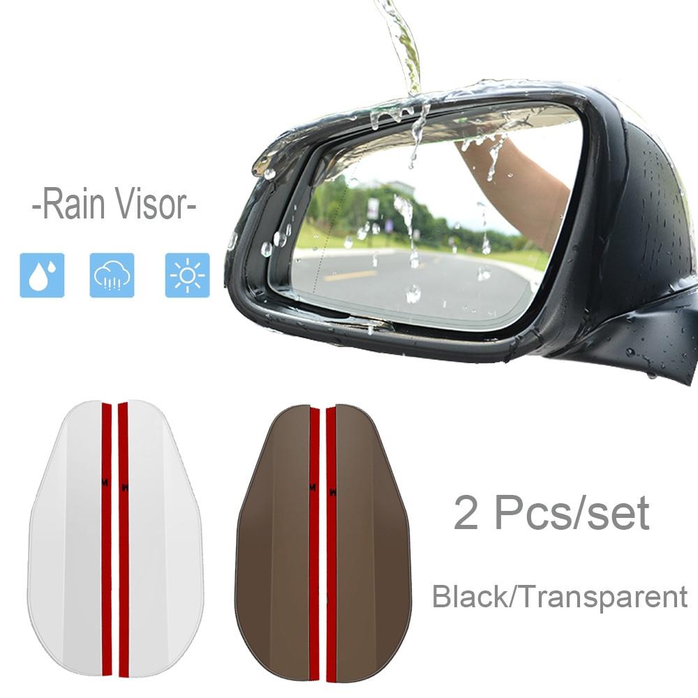 Head Car Styling Rain Eyebrow For subaru forester nissan qashqai vw t5 seat leon 2 nissan nv200 peugeot 3008 accessories