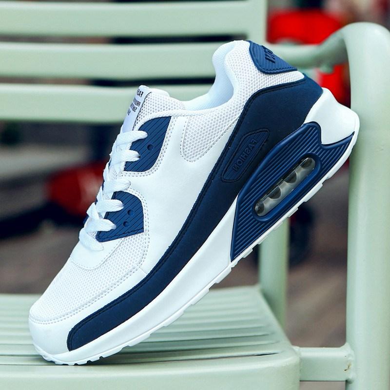 Damyuan – chaussures de course à lacets pour hommes, baskets décontractées à coussin d'air, pour les amateurs de sport, taille de la prise, tendance, nouvelle collection 2020