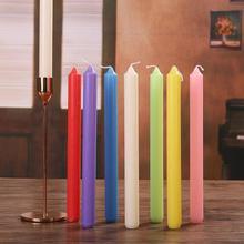 1 stücke Nordic Lange Stange Bienenwachs Kerze Waben Handgemachte Kerzen für Tisch Abendessen Home Decor Party Valentines Geschenk