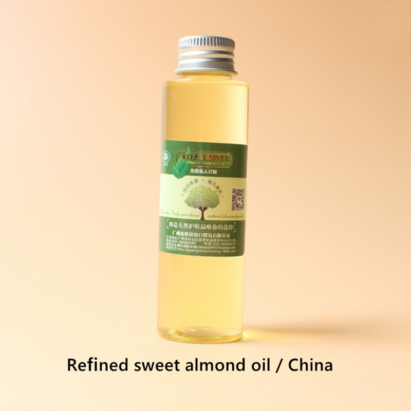 good muscle mascara Refined sweet almond oil China,highly effective moisturizing, smooth skin,good maintenance, relieve muscle pain, whitening