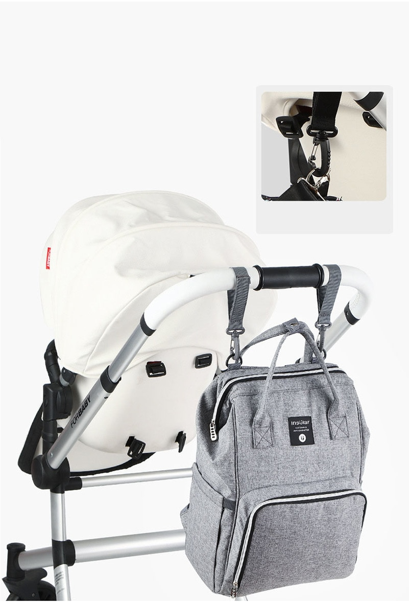 Купить с кэшбэком Nursing Bag Mummy  Large Capacity Baby Nappy Changing Diaper Maternity Back pack Bags Mum Bag Stroller Baby Care Backpack