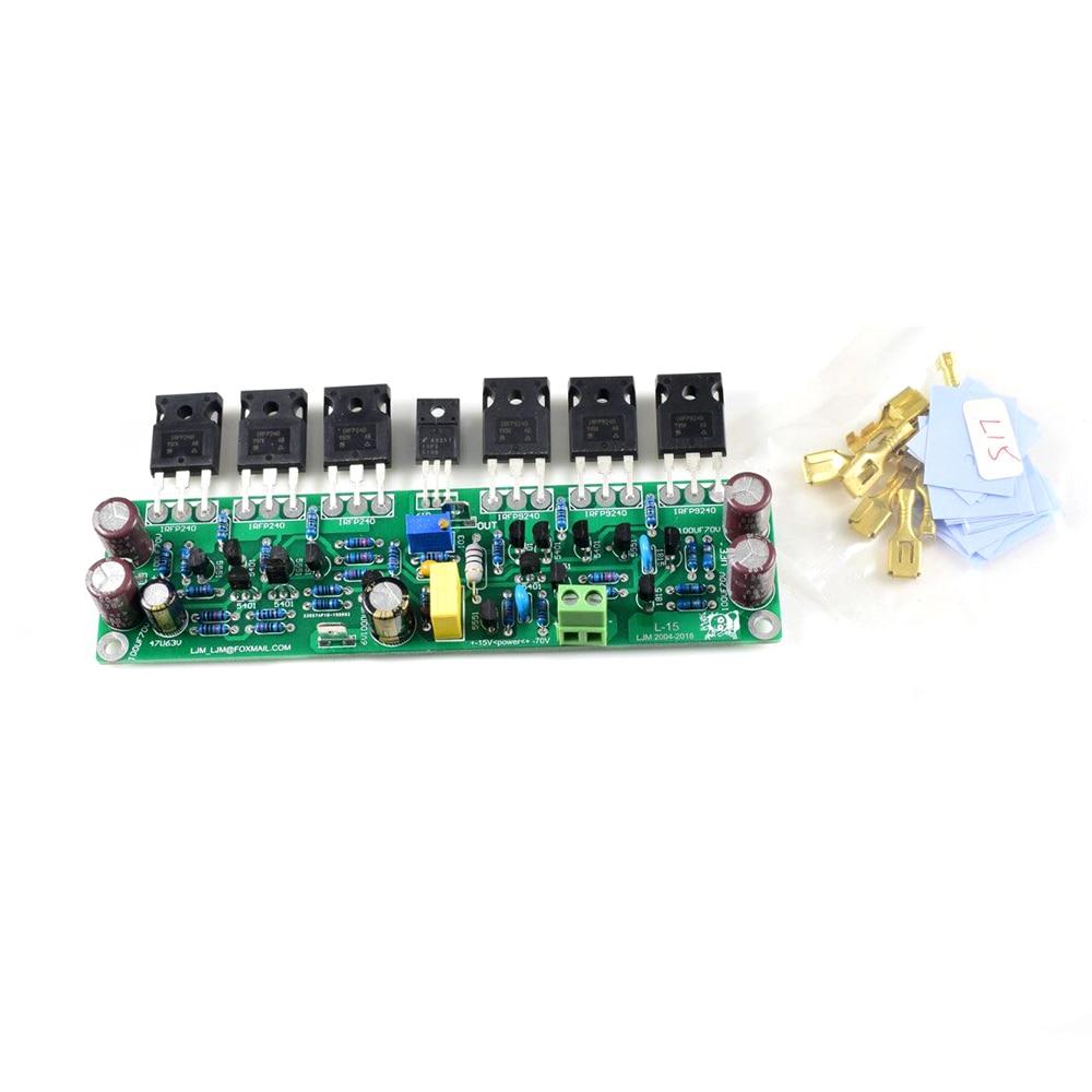 ljm assembled amplifier board l20dx2 irs2092 top class d amplifier board iraudamp7s 250w 2 8ohm pg 1pcs L15 FET 150W 300W 600W Mono Assembled Power Amplifier Board w/ IRFP240 IRFP9240 by LJM