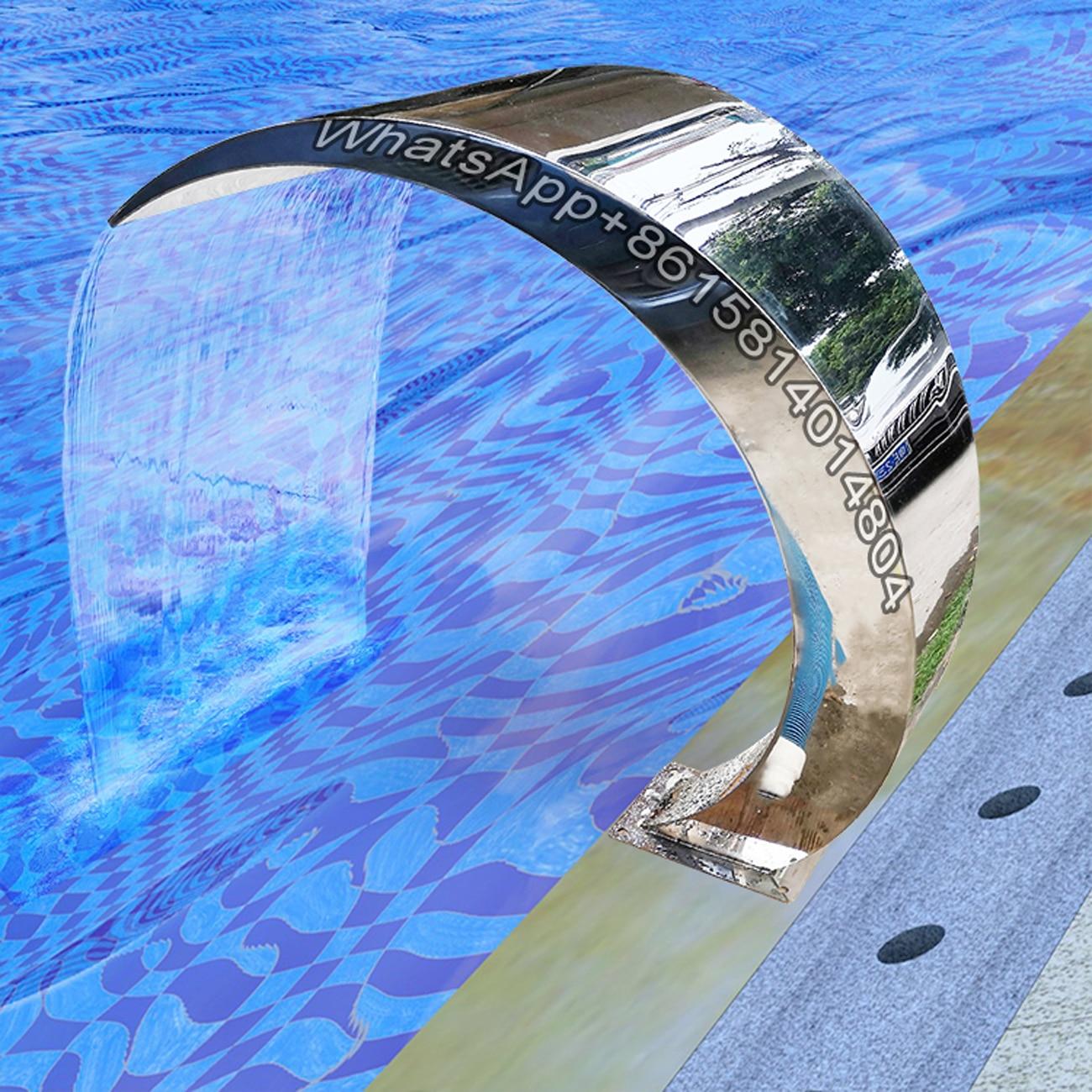 قوس هوك ستارة المياه ، آلة حمام السباحة ، نافورة سبا ، 304 الفولاذ المقاوم للصدأ فوهة ، يمكن تخصيص تدليك معدات سبا