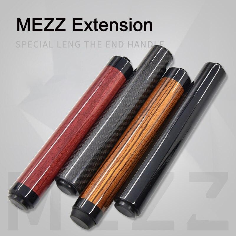 MEZZ billar Cue extensión Material de madera profesional portátil de carbono trenza de alta calidad accesorios Billiar extensión nuevo 2019