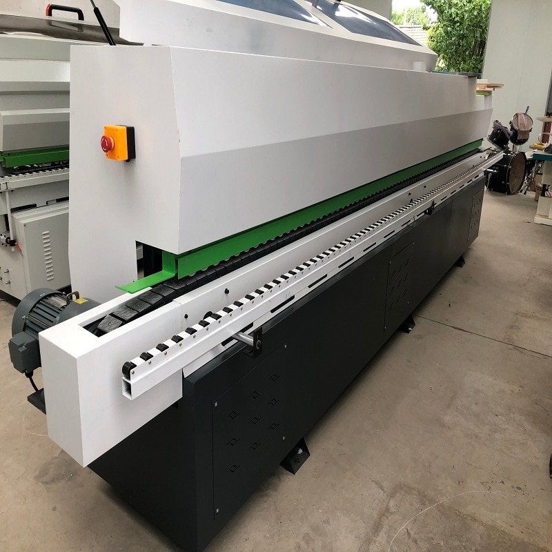 Upgraded multifunction automatic edge banding machine for wood-based panel/pvc sheet for furnature
