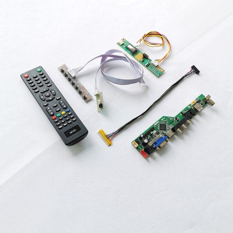 لوحة الكمبيوتر المحمول, تناسب HSD150PU13/HSD150PU15/HV150UX1 30Pins LVDS 1-CCFL لوحة الكمبيوتر المحمول 1600*1200 الصوت VGA USB 15