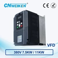 wk600 vector control frequency converter 380v three phase variable frequency inverter for motor 7 5kw11kw ac frequency drive