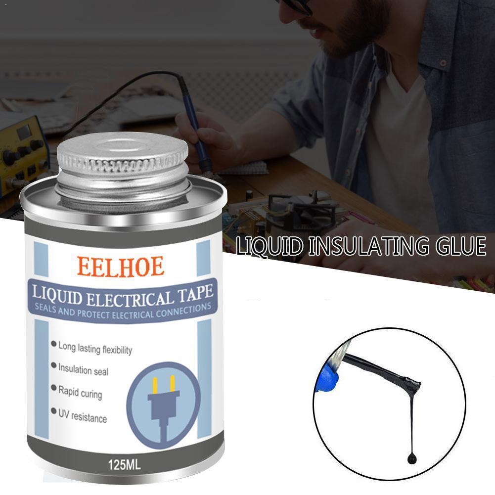 Fita antiuv impermeável rápida p1h9 do revestimento dielétrico seco da pasta do tubo da fita da isolação 125ml líquida