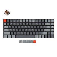 Keychron K3 E Ultra-slim Wireless Mechanical Low Profile Keyboard Optical Hot-Swappable Switch RGB Backlit for Mac Windows