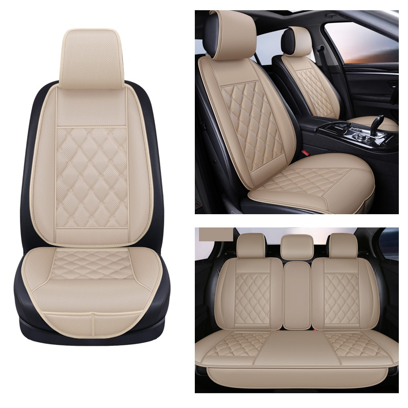 AliExpress - Car Seat cushions Protector seat Car leather Automobile Seat Covers Auto Seat Cushion Car seat Front Rear Cushion Car-Styling