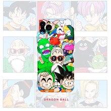 3D Japan Cartoon Toriyama Akira DRAGON BALL Family Phone Case for Apple Iphone 7 8 Plus X XR XS Max 11 Pro Max Back Cover
