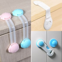 5pcs Safety Lock Children's Cabinet Lock Baby Safety Protection Child Safety Latches Drawers Cupboar