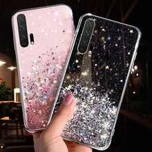 Bling Glitter Case For Huawei P30 P20 Lite Y5 Y6 Y7 Y9 Prime 2019 Nova 5 5i Honor 9X 20 Pro P Smart
