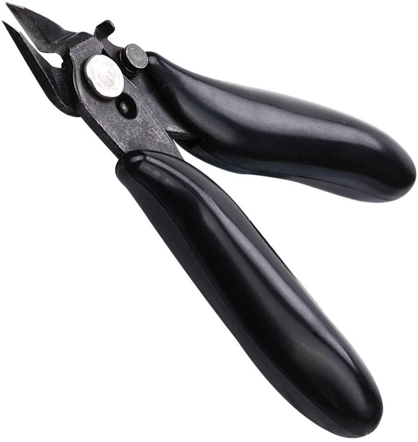 Диагональные плоскогубцы 3,5 дюймов Мини кусачки маленькие мягкие режущие плоскогубцы провода изоляционные резиновые ручки Модель кусачки